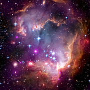 Hubble Telescope Photos - Magellanic Cloud 3 by The  Vault - Jennifer Rondinelli Reilly
