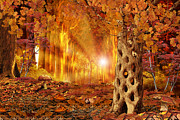 Roxana Paul - Magic autumn forest