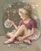 Magic Ballerina Print by Beverly Levi-Parker