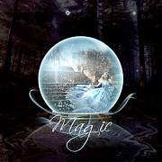 Ball Digital Art Originals - Magic by Graphicsite Luzern