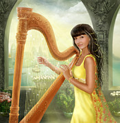 Alena Lazareva - Magic harp