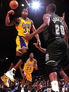 Magic Posters - Magic Johnson Poster Poster by Sanely Great