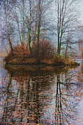 Bitner Prints - Magic Reflection Print by Mariola Bitner