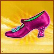 Magic Shoe Print by Gary Grayson