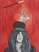 Guns N Roses Art - Magic Slash by Jeepee Aero