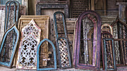 Ornate Frame Framed Prints - Magic Windows Framed Print by Terry Rowe