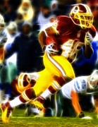 Alfred Drawings Posters - Magical Alfred Morris Two Poster by Paul Van Scott