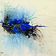 Isi Art - Magical Blue-abstract Art by Ismeta Gruenwald