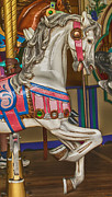 Carrousels Prints - Magical Carrsoul Horse Print by Garry Gay