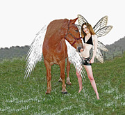 Magical Creatures Digital Art - Magical Friends by Brian Graybill