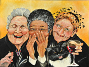 Laughing Paintings - Magical Moment by Shelly Wilkerson
