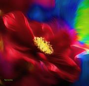 Magical Rose Print by Zeana Romanovna