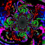 Magical Spell Abstract Art Print by Annie Zeno