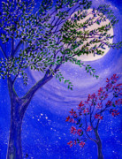 Moonscape Prints - Magical Spring Print by Brenda Owen