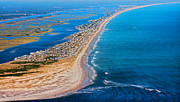 Topsail Island Posters - Magical Topsail Island Poster by Betsy A Cutler East Coast Barrier Islands