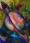 Catherine Mixed Media Prints - Magnetosphere Print by Catherine Harms