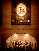 Black Commerce Art - Magnificent Grand Central Station Shuttle Passage by Miriam Danar