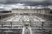 Magnificent Palace View Print by Joan Carroll