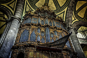 Magnificent Pipe Organ Print by Lynn Palmer
