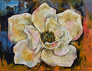 Flor Paintings - Magnolia by Michael Creese