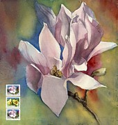 Alfred Ng - magnolia painting for my mother