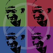 Independance Digital Art Posters - Mahatma Gandhi  Poster by Jean luc Comperat