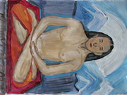Avatar Paintings - Mahavtar Bhabaji Mother and Grandfather of Souls by Vikram Singh