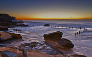 Maroubra Art - Mahon Pool Sunrise - Maroubra - NSW - Australia by Bryan Freeman