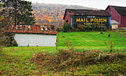 Pa Barns Framed Prints - Mail Pouch 3 Framed Print by Steve Harrington