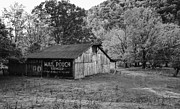 Kathleen K Parker - Mail Pouch Tobacco Barn black and white