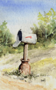 Mail Box Metal Prints - Mailbox Metal Print by Sam Sidders