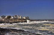 Nubble Lighthouse Metal Prints - Main Coastline Metal Print by Joann Vitali