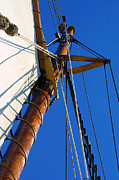 Schooners Art - Main Mast by ABeautifulSky  Photography