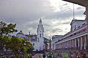 Al Bourassa - Main Square In Quito...
