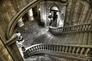 Ed Cilley - Main Staircase from Above