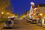 Main Street Prints - Main Street Bar Harbor Print by Juergen Roth