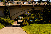 Joeseph Art - Main Street bridge niles michigan 2013 by Amy Lingle