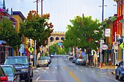 Bill Cannon - Main Street in Manayunk