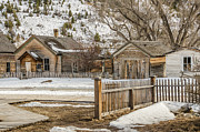 Bannack State Park Photos - Main Street by Sue Smith