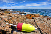Buoy Prints - Maine Coast Print by Olivier Le Queinec