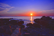 Raymond Salani Iii Photo Prints - Maine Coast Sunrise Print by Raymond Salani III