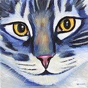 Maine Painting Posters - Maine Coon Poster by Melissa Smith