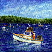 Sandra Estes - Maine Lobster Boat