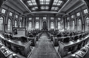 Democracy Framed Prints - Maine State House House Chamber II Framed Print by Clarence Holmes