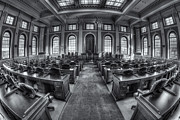 House Of Representatives Photos - Maine State House House Chamber IV by Clarence Holmes