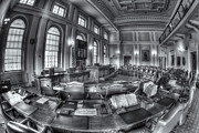 Democracy Framed Prints - Maine State House Senate Chamber II Framed Print by Clarence Holmes