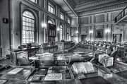 Senate Prints - Maine State House Senate Chamber IV Print by Clarence Holmes