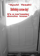 Snow Drifts Photos - Maine Winter Noreaster. Yesah by Patricia Sundik