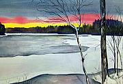 Brenda Owen - Maine Winter Sunset