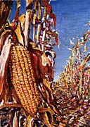 Corn Paintings - Maiz by Angel de Paz